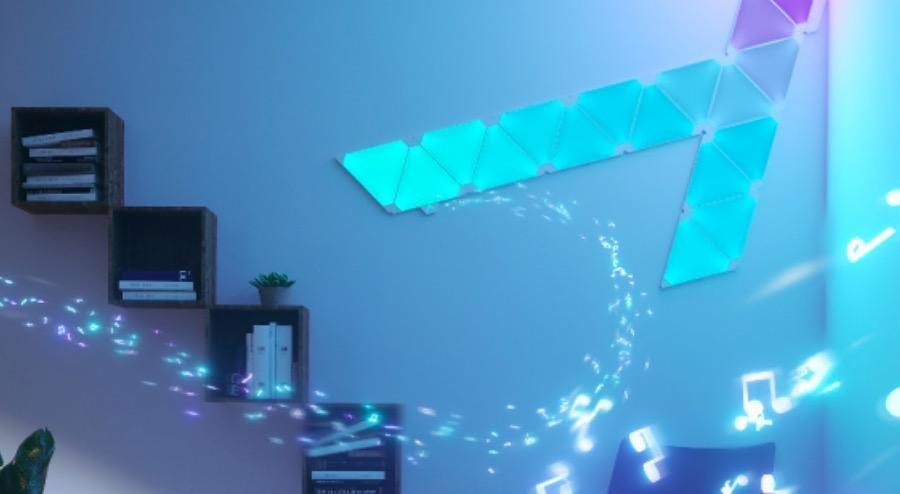 Aurora Rhythm pone luces de colores a ritmo de los sonidos de tu hogar